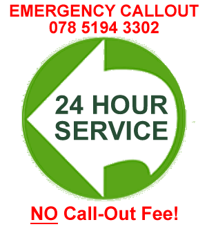 24 Hour Emergency Callout and NO Callout Fee!